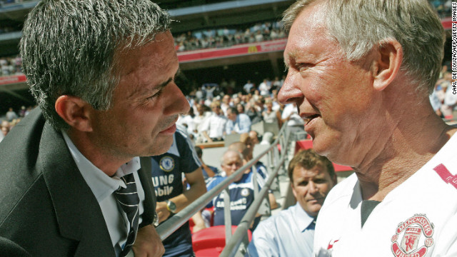 Rival managers Jose Mourinho and Alex Ferguson have the utmost respect for each others ability.