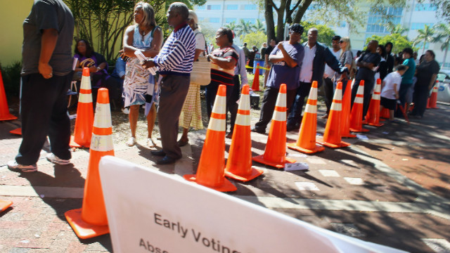 Long voting lines spark top election official&#039;s recommendations