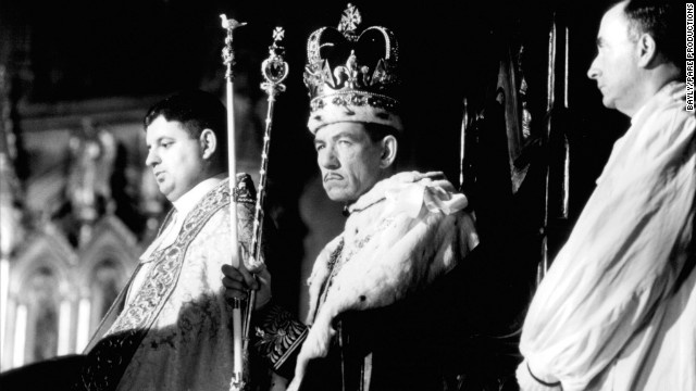 Sir Ian McKellen in the film &quot;Richard III,&quot; 1995.