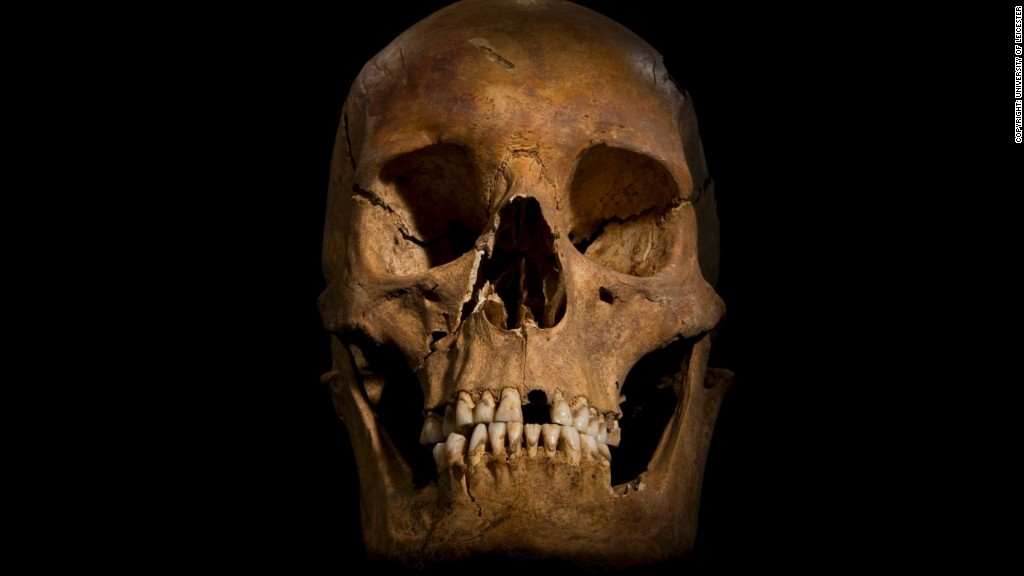 "British scientists announced Monday, February 4, that they are convinced ""beyond reasonable doubt"" that a skeleton found during an archaeological dig in Leicester, central England, in August 2012 is that of the former king, who was killed at the Battle of Bosworth Field in 1485."