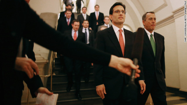We care: Cantor wants to give GOP a 'makeover', change the message