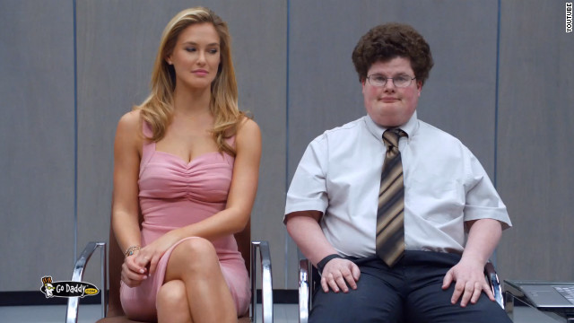 Jesse Heiman became a famous face overnight after the controversial <a href='http://startingpoint.blogs.cnn.com/2013/02/04/video-godaddy-actor-on-kissing-bar-rafaeli-in-super-bowl-ad-it-worked/'>GoDaddy.com</a> ad, where he played a nerd who locked lips with model Bar Rafaeli.