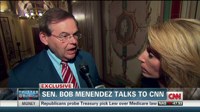 CNN TV Exclusive: Menendez speaks out, rebuts prostitute claims