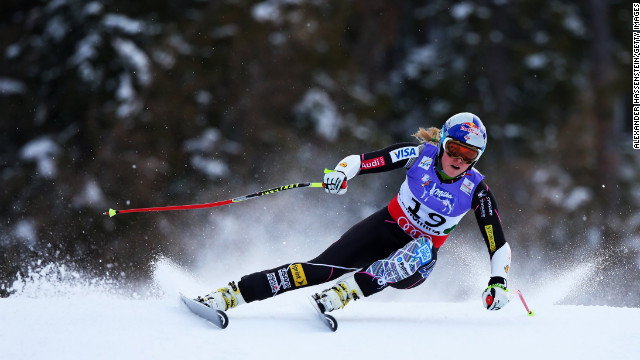 Lindsey Vonn is set to return to action at Lake Louise after recovering from injury.