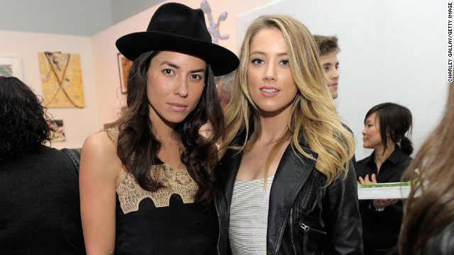 Actress Amber Heard, 26, right, and artist Tasya van Ree, 36, dated for about three years before reportedly splitting in 2011.