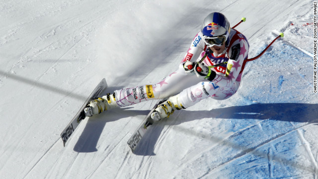 Lindsey Vonn claimed a sixth successive downhill Crystal Globe after the final race of the season was canceled.