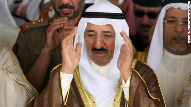 File photo: Emir of Kuwait Sheikh Sabah al-Ahmed al-Jaber al-Sabah in Kuwait City, 08 October 2007.