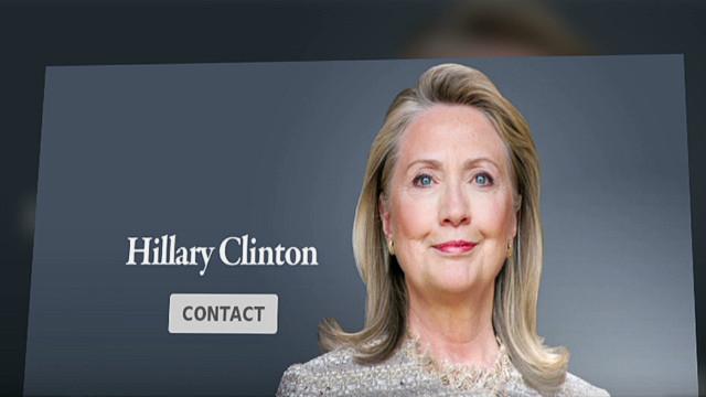 Una página web de Hillary Clinton genera especulaciones sobre el 2016