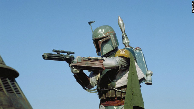 Fan favorite Boba Fett in 