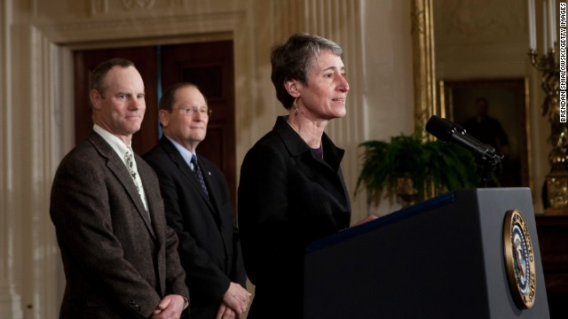 Obama will nominate Jewell to replace Salazar at Interior