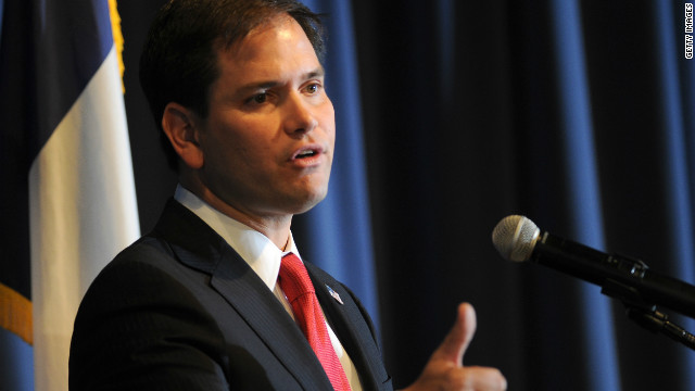 'The 20th century is gone': Rubio makes apparent dig at Hillary Clinton in New Hampshire speech