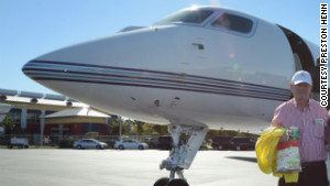 Henn says he was the first person to buy Gulfstream\'s hot, new G650 executive jet, which maxes out at 704 mph.