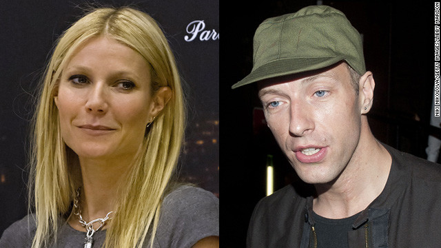Gwyneth Paltrow, 41, married Coldplay's Chris Martin, 36, in 2003.