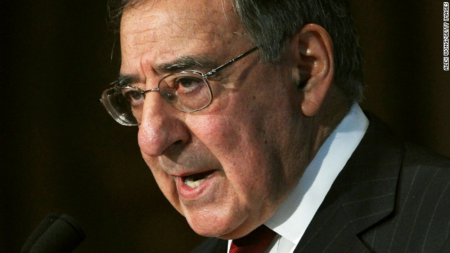 Defense Secretary Leon Panetta was given his ceremonial goodbye on Friday.