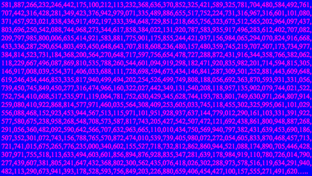 Largest prime number yet discovered