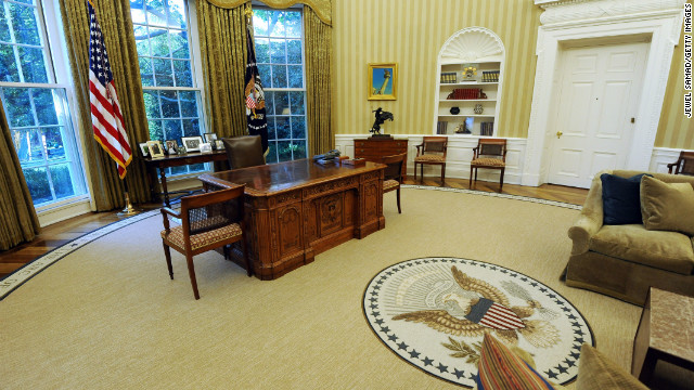 White House: Replica Oval Office report doesn't square
