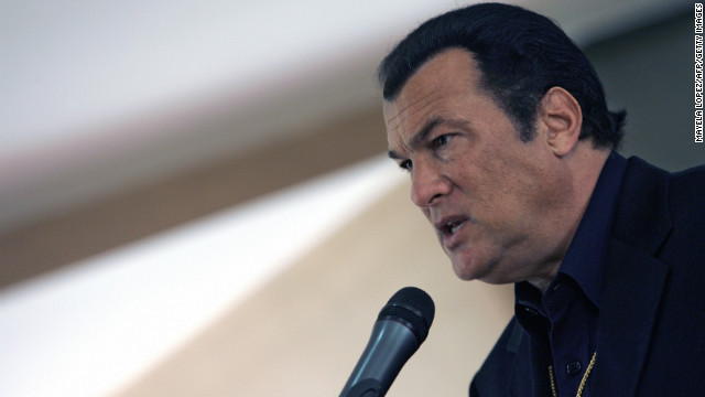 Seagal to lead school shooting response exercise