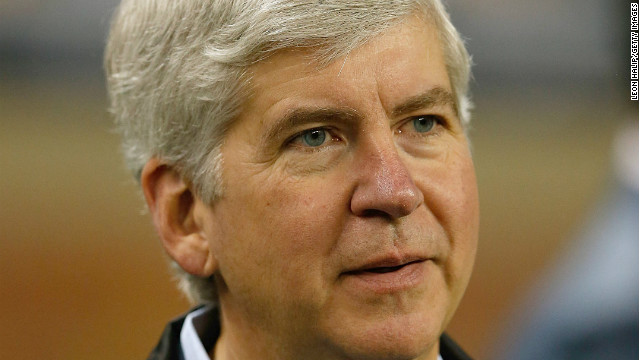 Michigan gov. latest Republican to support 'Obamacare' provision