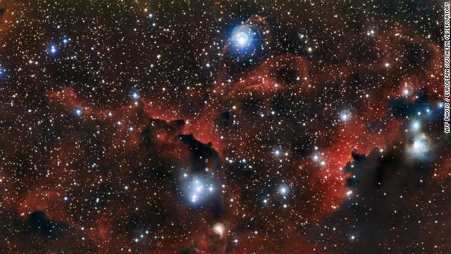 """Un telescopio en el norte de Chile capta las alas de una """"gaviota cósmica"""""""