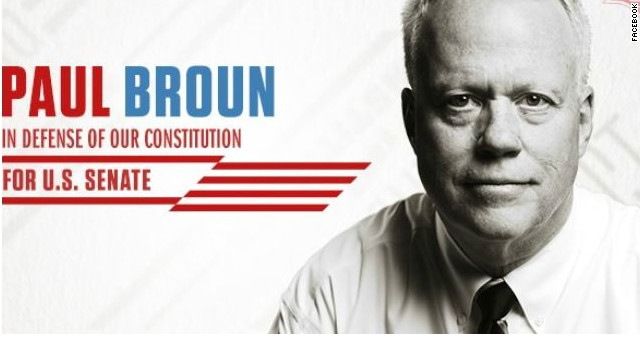 Georgia Rep. Paul Broun to run for Senate