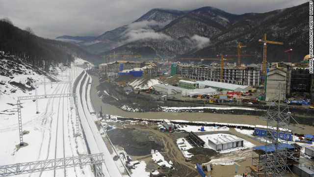 A high-speed rail line will link the mountain venues with the seaside stadiums, a journey expected to take 45 minutes. &quot;You can go to downhill alpine skiing events in the morning and watch track and figure skating in the evening,&quot; U.S. Olympic Committee official Patrick Sandusky told CNN.