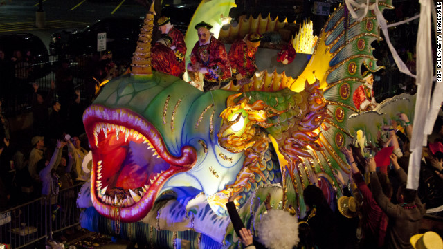 """The half-dressed masses are a sight to behold, but the festivities stretch well beyond those tantalizing flashes of skin. Get your parade strategy on with """"<a href='http://www.cnn.com/2012/02/10/travel/mardi-gras-parade-tips/index.html'>Mardi Gras beyond bare breasts</a>."""""""