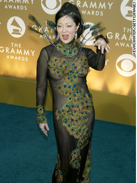 In 2004, Margaret Cho channeled her inner peacock with this scandalous getup.