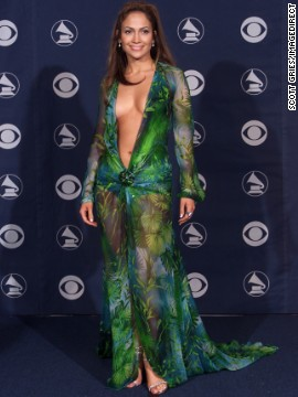 The green Versace dress that Jennifer Lopez wore to the 2000 Grammy Awards might be her most iconic look to date. &quot;Those fashion moments happen by mistake -- you can't plan things like that,&quot; Lopez has said of the risque ensemble. But daring looks like this may be a thing of the past if CBS gets its way this Sunday (February 10). Let's look back at the Grammys' most scandalous styles.