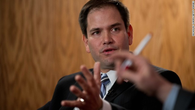 Rubio opposes government funding bill unless Obamacare de-funded