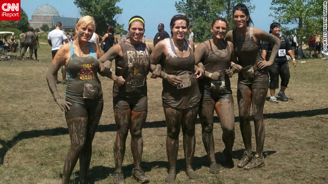 Garcia and her sorority sisters recently completed a 5K obstacle course in Chicago. &quot;It was so fun,&quot; Garcia says. &quot;I love that my friends finally embrace my weight loss and my new love for outdoor activities.&quot;