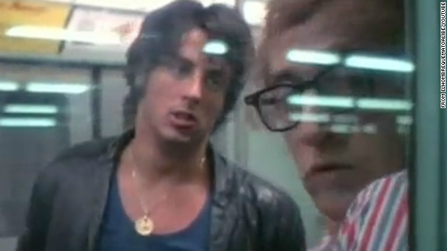 "Before ""Rocky,"" Sylvester Stallone worked as an extra, perhaps getting his most exposure as a street hoodlum harassing Woody Allen's character in 1971's <a href='http://www.youtube.com/watch?v=blOUfHFaNvs' target='_blank'>""Bananas.""</a>"