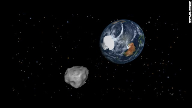An asteroid is coming! But don't panic. NASA says Asteroid 2012 DA14 will make a record-close pass by Earth on February 15, but it won't hit us. Most asteroids are made of rocks, but some are metal. They orbit mostly between Jupiter and Mars in the main asteroid belt. Scientists estimate there are tens of thousands of asteroids and when they get close to our planet, they are called near-Earth objects.