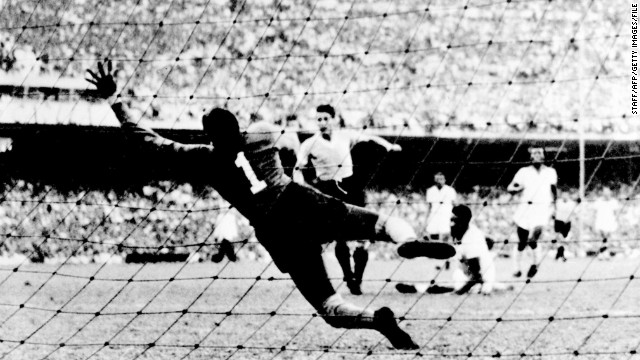 All Brazilians fear a repeat of the 1950 World Cup, when hosts Brazil lost 2-1 to Uruguay in the final game of the tournament and missed out on glory. The defeat was referred to as &quot;our Hiroshima&quot; by Brazilian playwright Nelson Rodrigues.