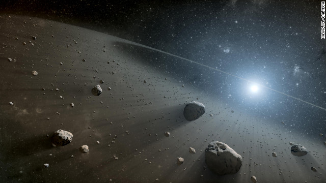 What else is up there? Is anyone watching? NASA's Near-Earth Object Program is trying to track down all asteroids and comets that could threaten Earth. NASA says 9,672 near-Earth objects have been discovered as of February 5, 2013. Of these, 1,374 have been classified as Potentially Hazardous Asteroids, or objects that could one day threaten Earth.
