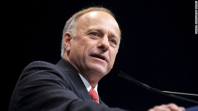 First on CNN: Iowa's Steve King heading to South Carolina