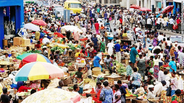 Award-winning Nigerian author Chibundu Onuzo visited Accra, the vibrant capital of Ghana. Here, traders ply their wares at Makola Market, the city's main market and shopping district.