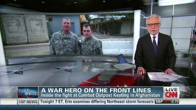 TUNE IN TO CNN for an ENCORE PRESENTATION: Jake Tapper Reports -- An American Hero: The Uncommon Valor of Clint Romesha
