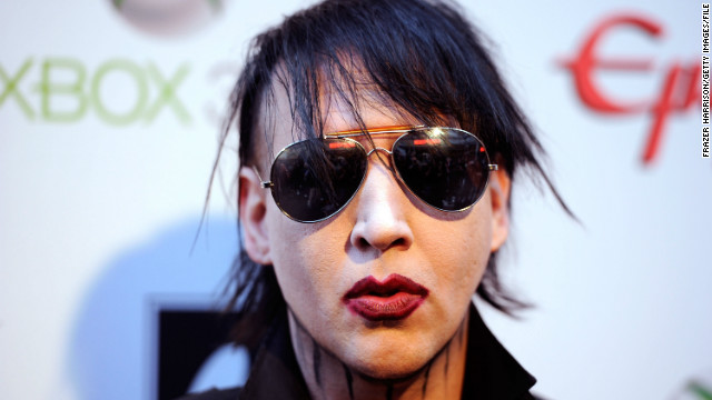 Marilyn Manson collapses during concert