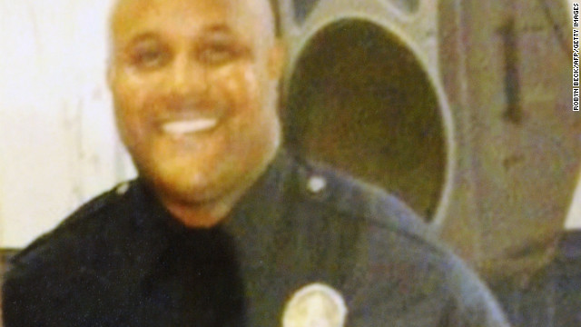 Search for ex-cop at center of LAPD revenge plot widens