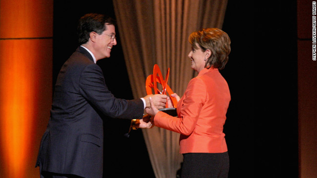 Unlikely bedfellows: Colbert headed for Democrats' retreat