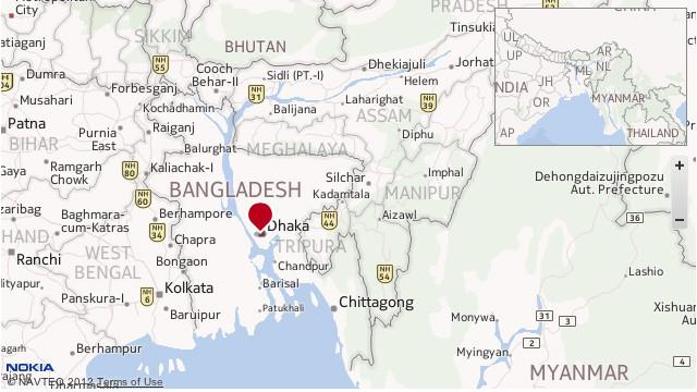Un ferry con más de 100 personas a bordo se hunde en Bangladesh