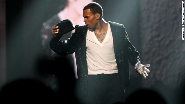 In June 2010, Brown performed a tribute to Michael Jackson during the BET Awards in Los Angeles. After Brown pleaded guilty to assaulting Rihanna, a restraining order mandated that the pair cut off communication and remain a certain distance apart.