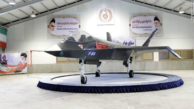 Iran&#039;s Qaher-313 fighter plane