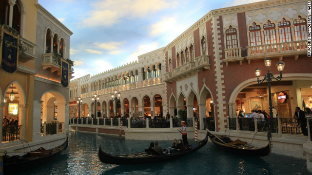 The company that owns the Venetian in Las Vegas, pictured here, is planning to open a casino-hotel resort in Madrid.