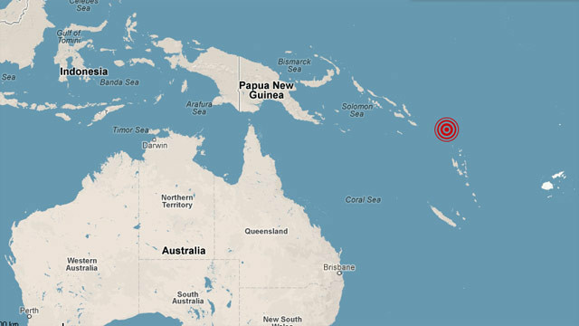 Third large quake in a week hits Solomon Islands