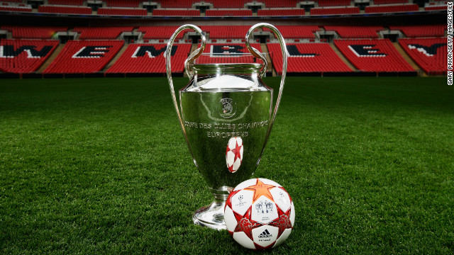 The European Champions League final was last held at London's Wembley Stadium in 2011.