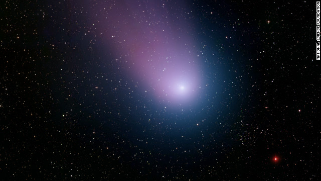 This image of Comet NEAT was taken at Kitt Peak National Observatory near Tucson, Arizona, on May 7, 2004.