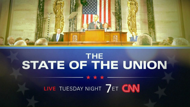 CNN's Coverage of President Obama's State of the Union Address