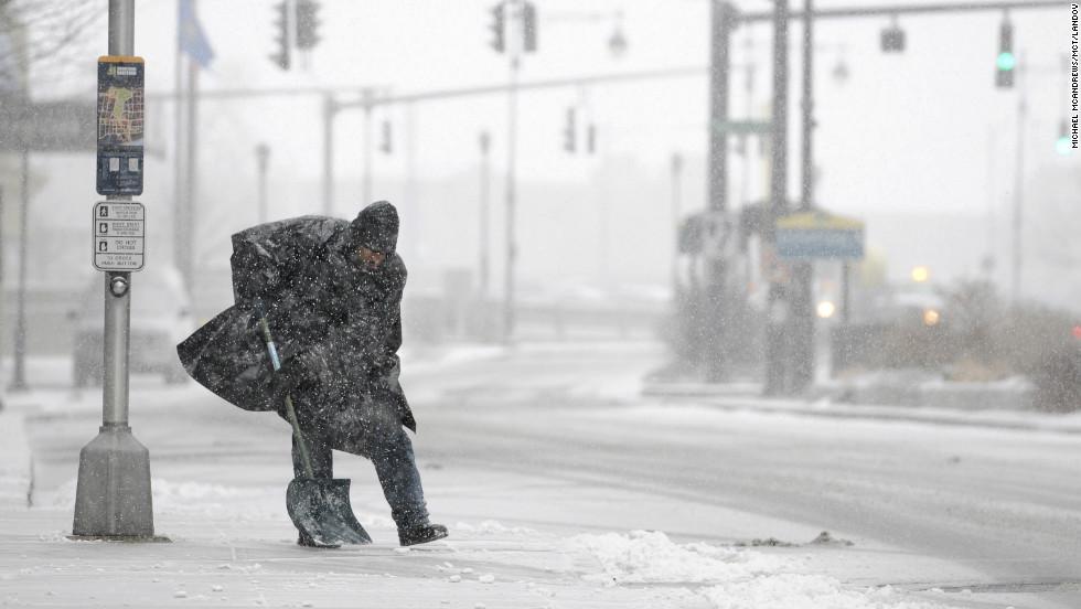 Tormenta de nieve en el nordeste de EE.UU.
