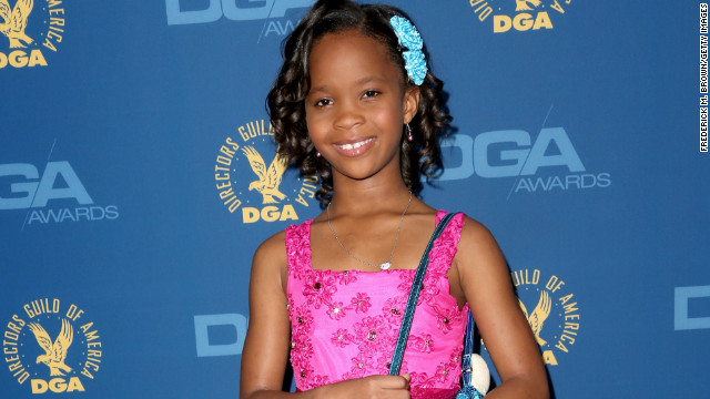 Oscar nominee Quvenzhan Wallis is in consideration for the 